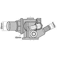 TRIDON Std Thermostat For Alfa Romeo 156  02/99-08/02 2.0L AR 32310