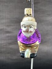 Beautiful Inge Glas Glass Christmas Ornament Boy Made in Germany