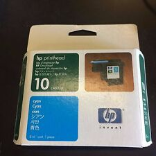 HP 10 INK COLOR CYAN LOT OF 4