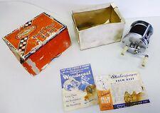 Vintage Shakespeare Wondereel 1920 Fishing Reel in Box Model GA Thumbless