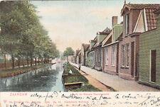 CPA PAYS-BAS HOLLANDE NEDERLAND ZAANDAM oude en nieuwe heerengracht stamp 1905