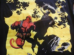 2008 Mike Mignola Dark Horse Hellboy T-shirt Balzout size Med Made in USA