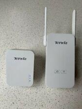 Tenda AV1000 WiFi range extender and Powerline adapter set (2 units), model PA6
