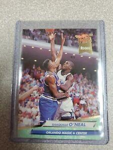 1992 Fleer Shaquille O'Neal #328 Basketball Card