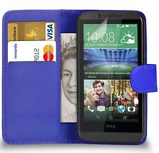 Premium Leather Wallet Case Cover Pouch For HTC Desire 620 Mobile Phone