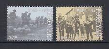 Far Oer 2005 Serie Fine II Guerra Mondiale 537-38 MNH