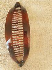2pcs Brown Banana Hair Clincher Fish Design Hair Comb Clasp