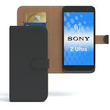 Tasche für Sony Xperia Z Ultra Case Wallet Schutz hülle Cover schwarz