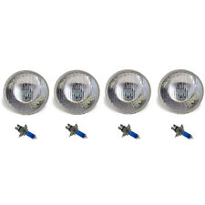 "5-3/4"" Halogen Semi Sealed Beam Headlight Conversion Headlamp 100/90W H4 Bulbs"