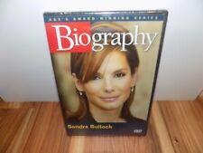 Biography - Sandra Bullock (DVD, 2007) A&E - BRAND NEW, SEALED
