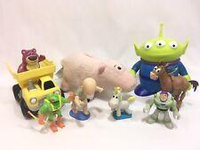 """Disney Pixar Toy Story 3 Alien 6"""" Thinkway Toys Bullseye Buzz Lotso PVC Figures"""