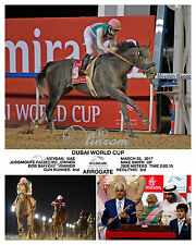 ARROGATE DUBAI WORLD CUP 2017 COMPOSITE PHOTO 10 X 8