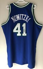Dirk Nowitzki Mavericks Signed Mitchell & Ness NBA Authentic Jersey FANATICS