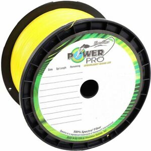 PowerPro Spectra Fishing Braid Line 1500 Yds -- Yellow -- Pick Line Test