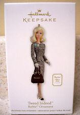 Hallmark 2012 Ornament, Tweed Indeed, Barbie