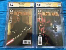 Star Wars: Darth Maul #2 set - Dark Horse - CGC 9.0 - Signed by Jan Duursema