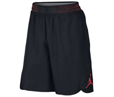 Men's Nike Jordan Mid-Flight Victory Shorts Black Size Small S