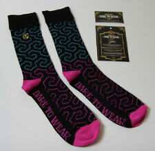 DARE TO WEAR Mens Geometric Socks UK 7-11 Bamboo 3X Moisture Wicking Soft Touch