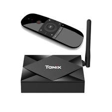 TANIX TX6S Android 10 Quad Core 8K TV Box 4G 32G Dual WiFi 2.4/5.8GHz 100M BT 4