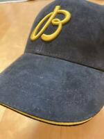 BREITLING Cap Hat Novelty New Unused Not for sale Black Gold logo