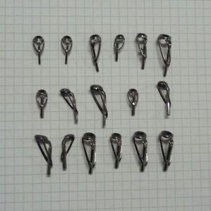 Spitzenring Endring Kujira Rutenring mit SIC Einlage, Tube 0,8 - 2,2 mm, Ruten