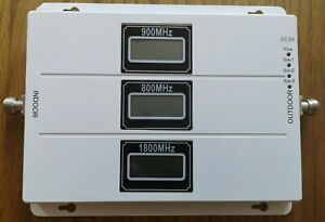 The All Networks Phone Signal Booster Tri-Band 900/1800/2100MHz