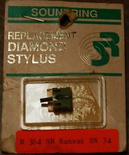 Record Player Needle Stylus Soundring 573 SANSUI, & MORE, Replacement Stylus