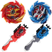 Beyblade B-159 Super Hyperion +B-88 +B-160 King Helios +B-119 Launchers Grip Set
