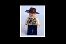 LEGO Vet Minifigure with Hat Fedora From Jurassic World Set 75919