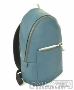 NEW - COACH Metropolitan Teal Blue Pebble Leather Luxury Soft Backpack 69351