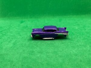 NOS ORIGINAL 1957 TYCO 440 X-2, '57 CHEVY BODY, PURPLE, NEW OLD STOCK