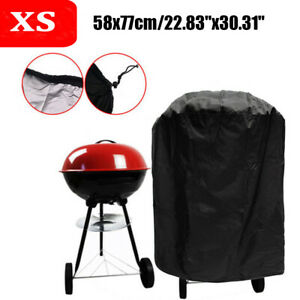 UK Garden Patio Kettle BBQ Grill Cover Barbecue Round Smoker Covers Waterproof