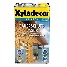 Xyladecor Dauerschutz-Lasur kiefer 4 Liter Wetter holz Schutz Lasur Farbe NEU