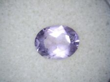1.37Ct  Oval cut Natural  Light Purple Amethyst gems
