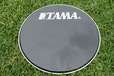 "PEARL 22"" EBONY FRONT LOGO BASS DRUM HEAD for YOUR BASS + DRUM SET! LOT #E805"