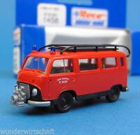 Roco H0 1458 FORD FK 1250 mit Pumpe Feuerwehr St. Gilgen HO 1:87 OVP