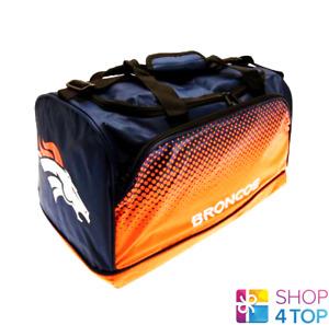 NFL Denver Broncos Sbiadito Piccolo Borsone Borsa Calcio Team Giocare USA SPORTS