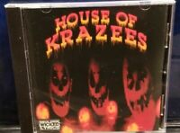 House of Krazees - Season of the Pumpkin  CD 2004 HOK twiztid r.o.c. horrorcore