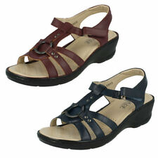 Women's Casual Wedge Strappy Synthetic Sandals & Beach Shoes