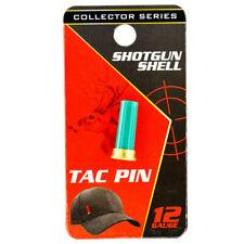 12 Gauge Shotgun Shell Tac Pin Novelty Accessory - Collector's Edition - Green