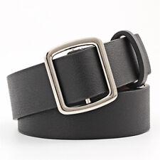 Ladies Waist Belts Leather Female Wide Belt Waistband Solid Waist Band No Needle