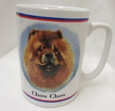 Vintage Papel Chow Chow Dog Breed Coffee Mug Cup Portraits R Maystead Text