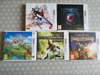 Lot de 5 jeux PAL FR Nintendo 3DS