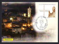 Italy 2017: Sacred Plug San Giovanni White-Postcard whew. Poste Italiane