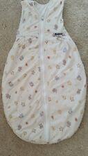 Alvi Schlafsack für Babys in beige mit lustigen Bärchen (90cm)