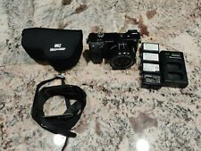 Sony Alpha A6000 24.3 MP Camera - Black w/16-50mm Lens, 3x Extra Batteries&More!