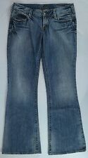 Woman's Silver Jeans Aiko Boot Cut Buckle Jeans, Medium Wash - Size 31