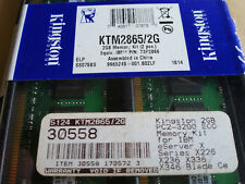 KTD-PE6950/2G KINGSTON 2gb (2x1GB) DDR2-667MHz PC2-5300 ECC CL5 REG SING MEMORY