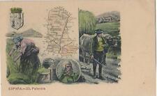 Postal MAPA Provincias. Nº 35. PALENCIA.