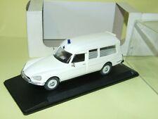 CITROEN DS AMBULANCE CURRUS MINIROUTE 62 1:43 résine